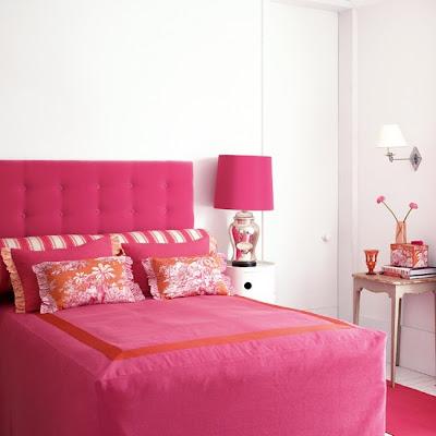 quarto de casl cor de rosa