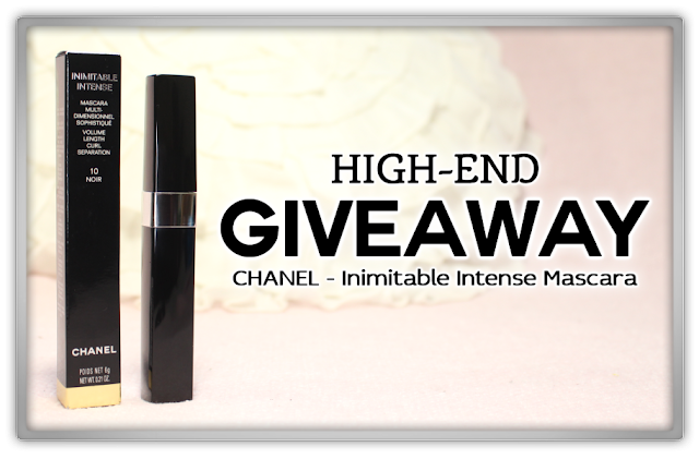 CHANEL Inimitable Intense Mascara noir Review haul high end makeup GIVEAWAY Win winnen winactie beauty blog blogger new year 4