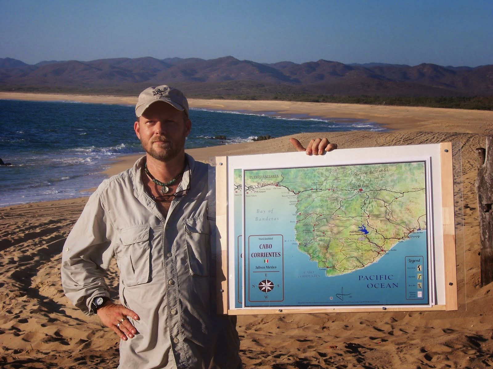 Cabo Corrientes Road Map