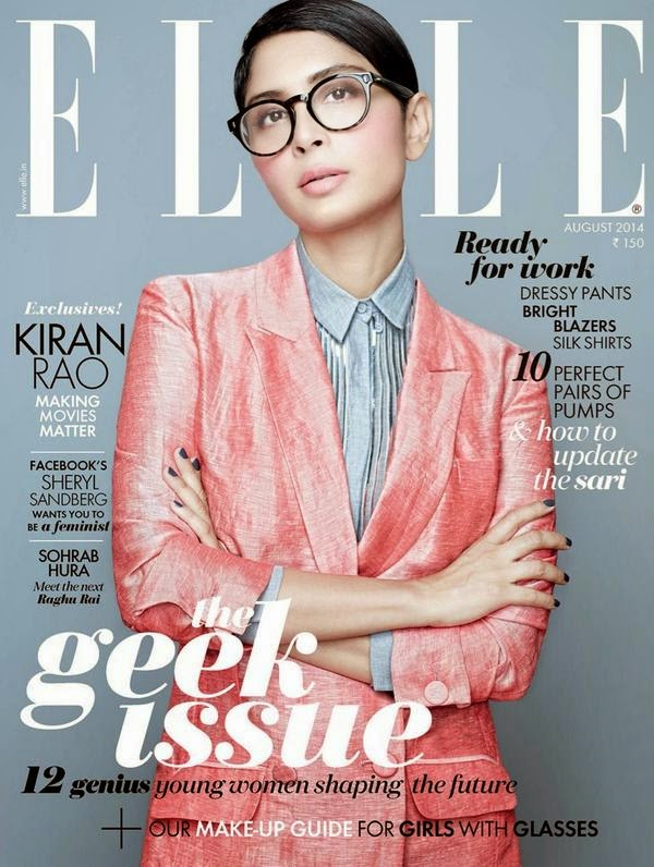 Kiran Rao - Elle Magazine, India, August 2014