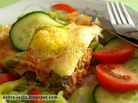 Vaječný zapekanec - recepty