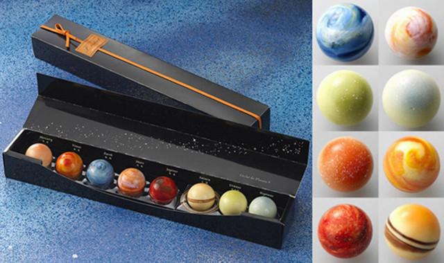 Rihga Royal Hotel Planetary Chocolates