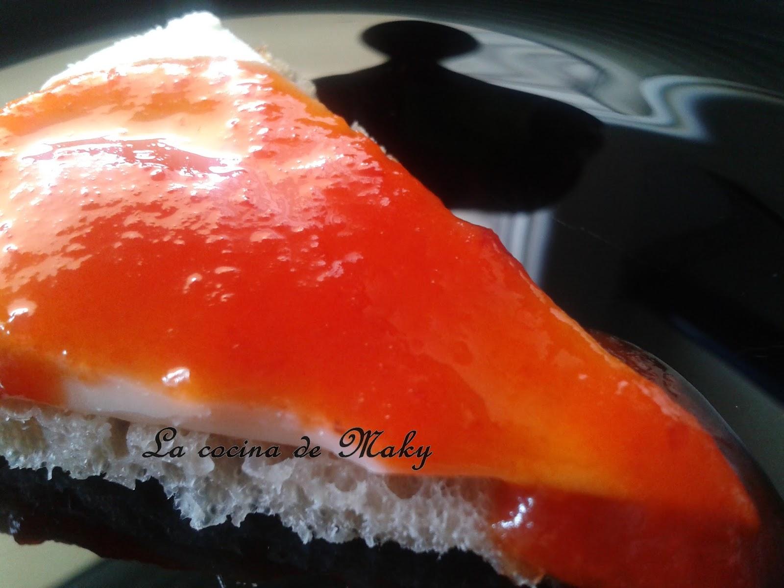 Rulo de cabra con pimientos cocinar en casa es - Mermelada de pimientos rojos ...