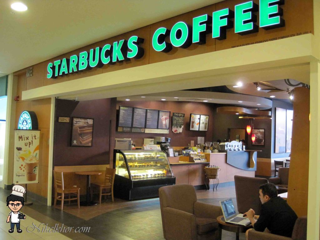 starbucks benchmark Starbucks blamed holiday drinks and declining mall traffic for its disappointing first-quarter performance, but shifting consumer behavior could pose bigger problems for the coffeehouse giant.