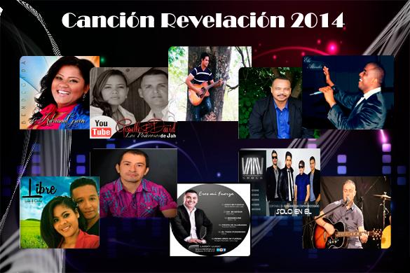 Nominados Canción Revelación año 2014