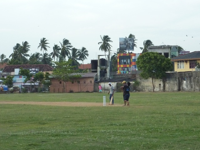 le cricket au Sri Lanka