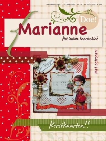 Mijn creaties in de Marianne Doe 15