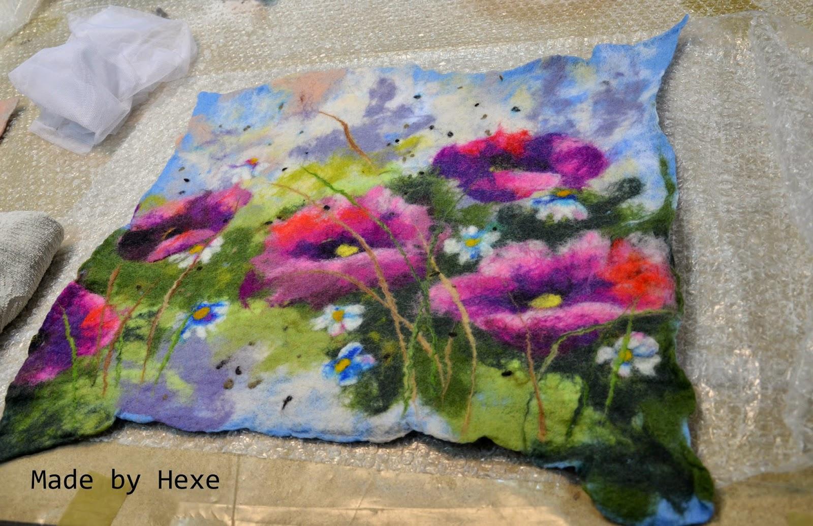 Kurs malowania filcem z Renatą