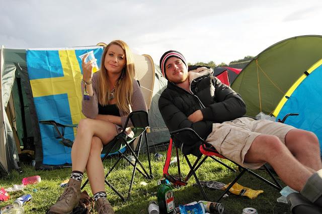 Leeds festival camping