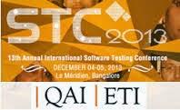 QAI_STC 2013_Bangalore