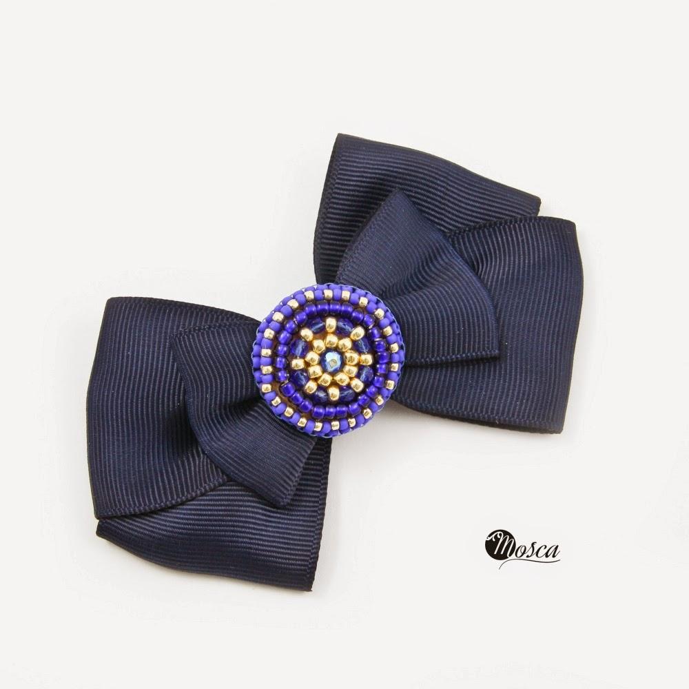 broszka haft koralikowy