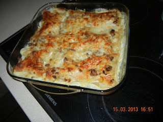 lasagna,I have been thinking in so long to cook that