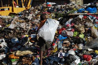 El trabajo infantil en condiciones infrahumana en Transfer de basura en Cancino Adentro