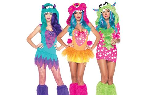 Disfraz de monstruita para Halloween