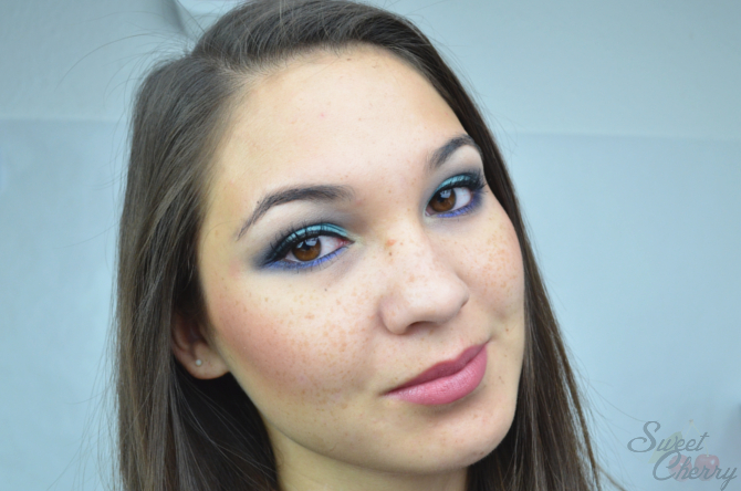 Make Up Look mit Sleek Paletten