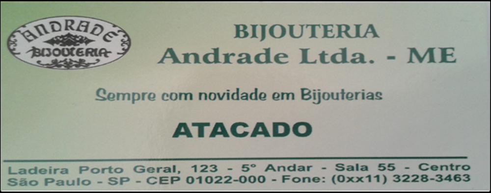 Bijouterias Andrade .