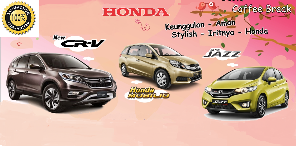 DEALER RESMI ALL NEW HONDA JAZZ-BRIO-MOBILIO-HRV-CRV