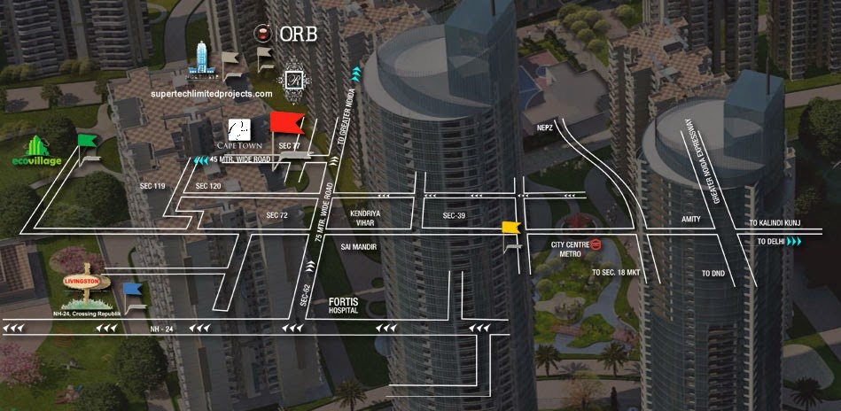 Supertech ORB :: Location Map