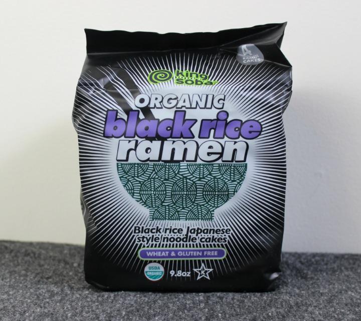 King Soba Organic Black Rice Ramen