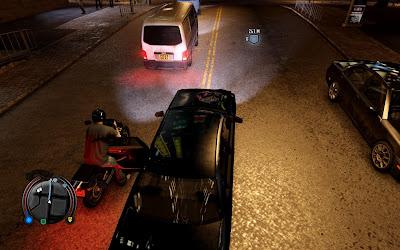 Игра Sleeping Dogs глюк с машиной
