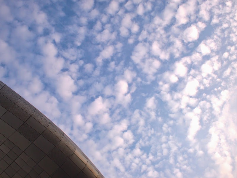 Ewha University Summer Studies Travel Seoul fluffy clouds dongdaemun lunarrive singapore