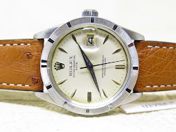 ROLEX OYSTER PERPETUAL DATE JUST WHITE DIAL - ROLEX 1501