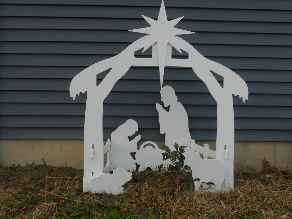 Free Plywood Nativity Scene Patterns