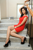 Aswini photo shoot in Red-thumbnail-10