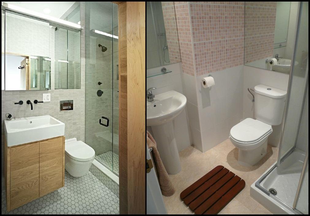 Banheiros pequenos  Blog da Priscilla -> Banheiro Simples Mas Arrumado