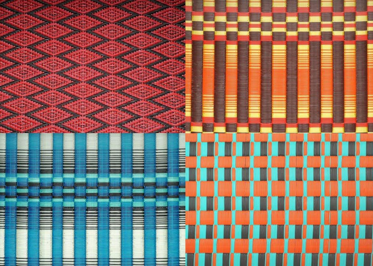 Casas cosas y dem s alfombras de pl stico de senegal for Todo tipo de alfombras