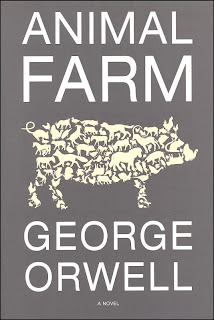 an analysis of animal farm a novel by george orwell Allegory and satire on animal farm by george orwell during world war ii this novel was written by george and it analysis animal farm.