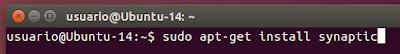 sudo apt-get install synaptic