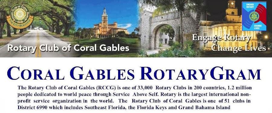 Coral Gables RotaryGram