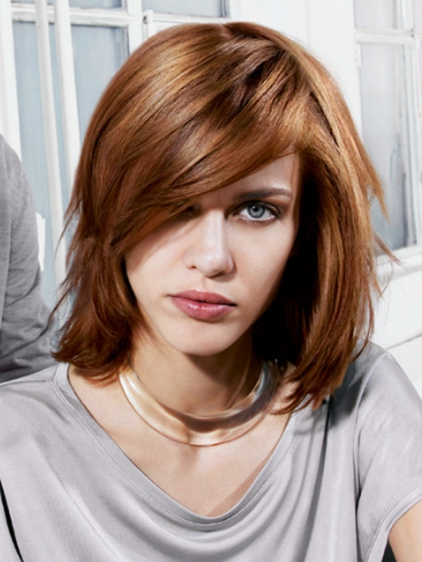 fall 2013 haircuts for medium length hair on Chic Medium Haircuts 2013 for Women - Hair Style Tutorial