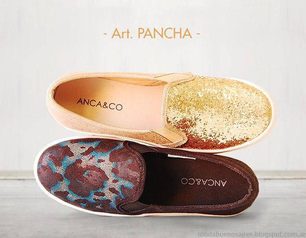 Panchas 2015. Las panchas son furor y marcan tendencia de moda en la primavera verano 2015. Anca & Co Panchas 2015.