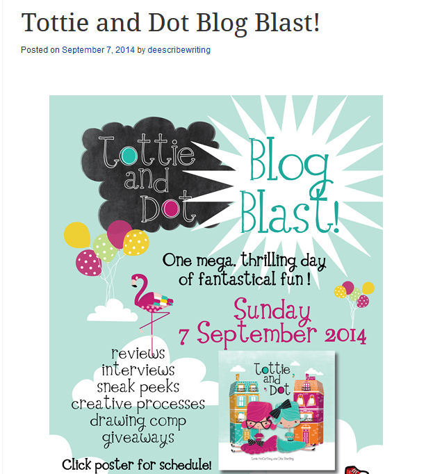 http://deescribewriting.wordpress.com/2014/09/07/tanias-picture-book-collaboration-tips-meet-tottie-and-dot/
