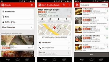 Busca los mejores servicios cerca de donde vives con Yelp en tu teléfono móvil.