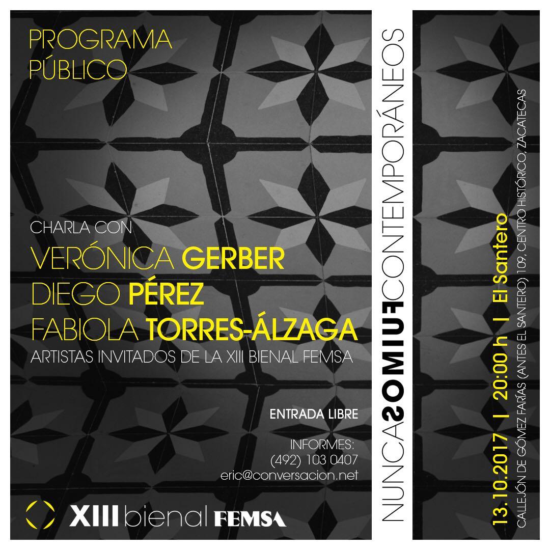 NUNCA FUIMOS CONTEMPORANEOS / XIII Bienal Femsa