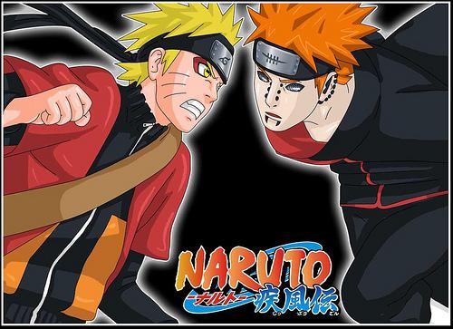 Naruto Shippuden vs Pain