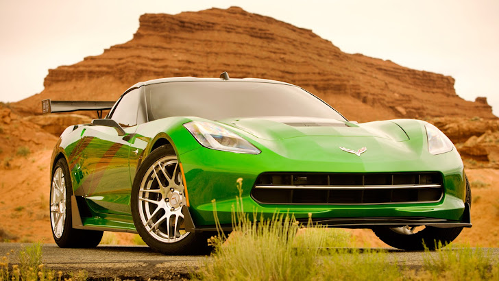 corvette stingray car transformers age of extinction