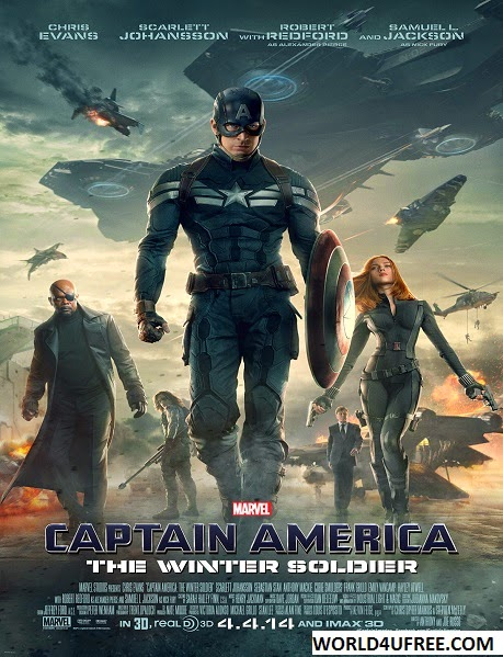 Captain America The Winter Soldier 2014 DVDRip 600MB