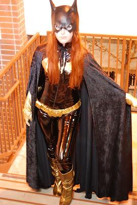 Batgirl cosplayer from Birds of Prey Team