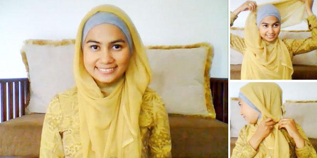 Tutorial Hijab Praktis Segi Empat Untuk Kuliah