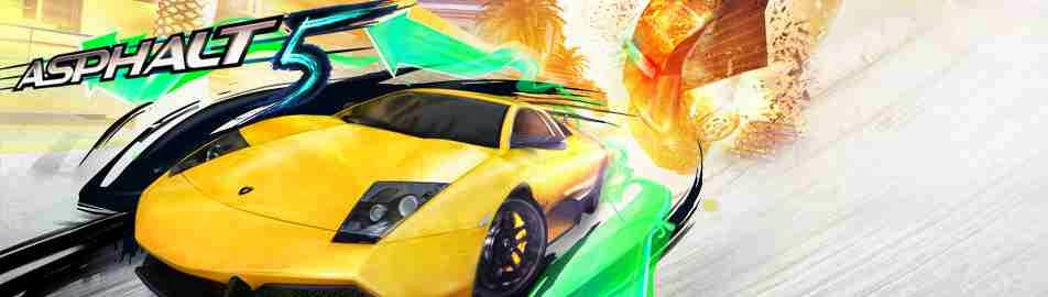 Asphalt 5 HD for iPhone
