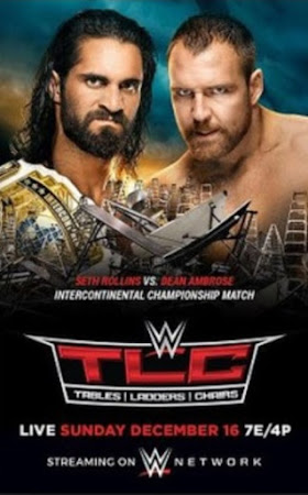 Poster Of WWE TLC PPV 16th December 2018 HDTV 480P 300MB