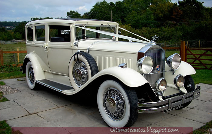 Old Fashioned Car Rentals For Weddings