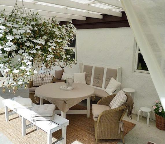 Hvit Lilje: Terrasse inspirasjon