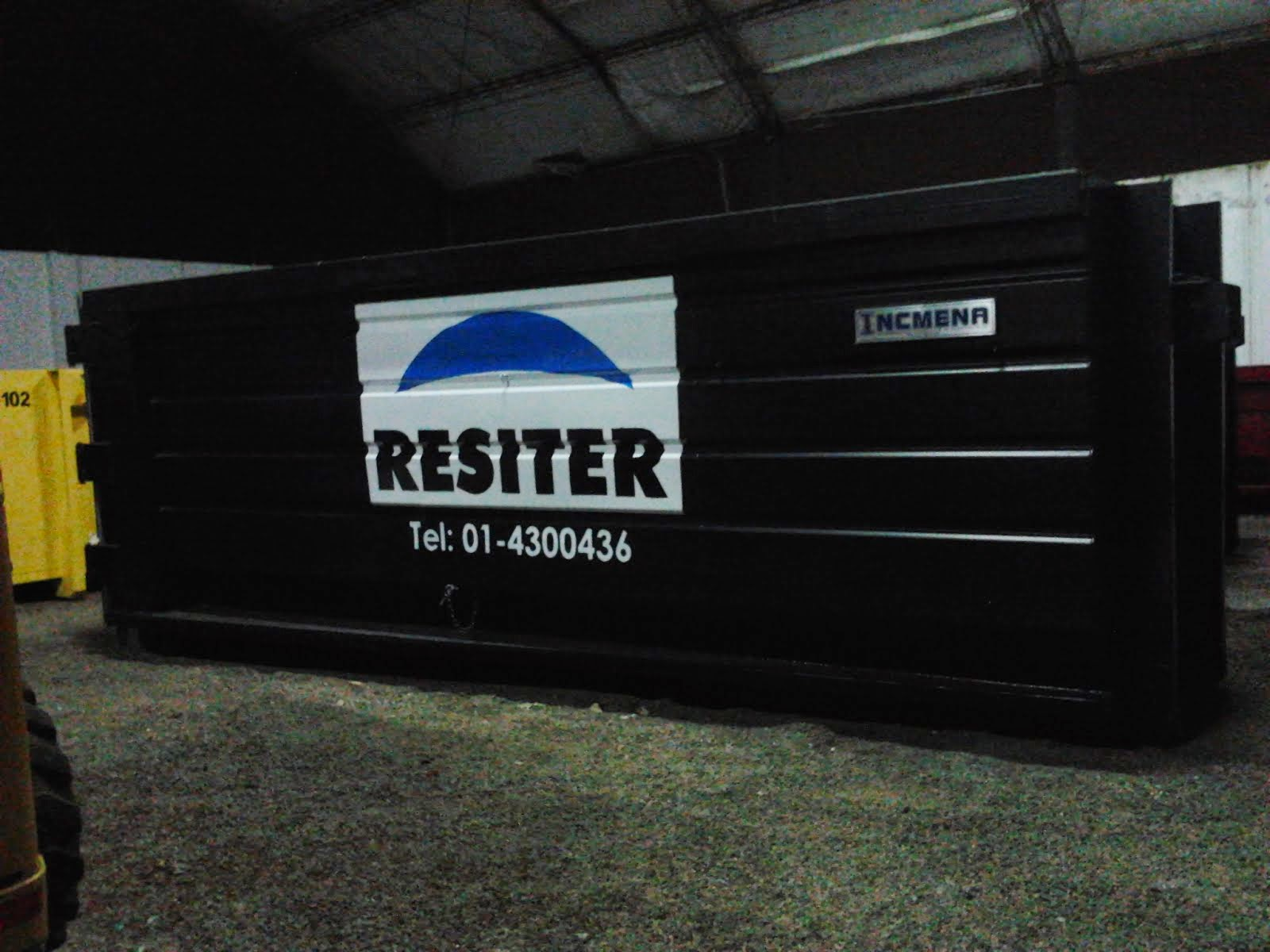 resiter - PINTADO DE CONTEINER