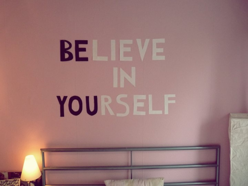 Hipster bedroom wall quotes - Garota Invis 237 Vel Decora 231 227 O Frases Na Parede