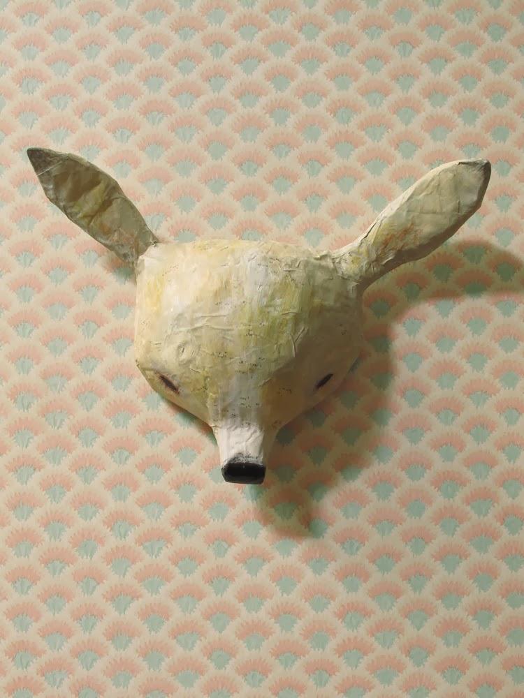 Les Petits Bohemes wall mount deer